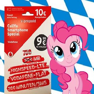 Kostenlose Vodafone CallYa Karte + 10,00€ Startguthaben, sowie Brezel + Getränke für alle Besucher (Lokal: Oederan / Sachsen, Freitag 15.10.2016)