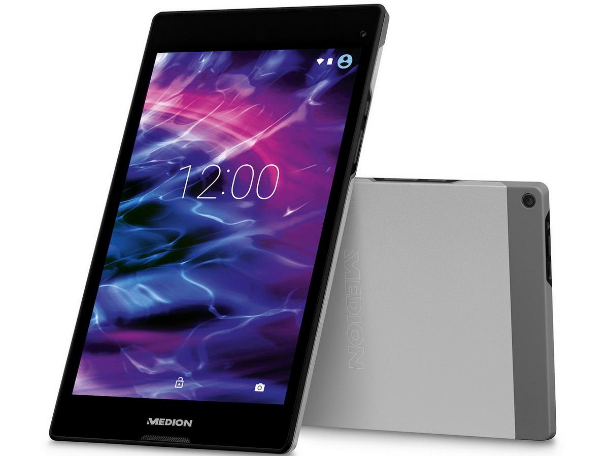 "[Medion] P8312 (MD 99334) 8"" Android™ Tablet, Intel® Atom™ Prozessor 1,83 GHz, 16 GB Speicher, HD-Display, WiFi, Bluetooth, Titan"