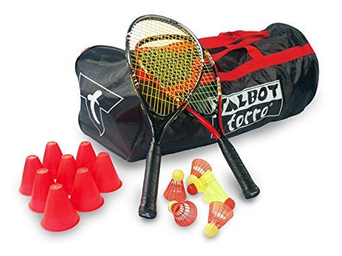 [AMAZON] Talbot Torro Speed Badminton Set im Sportsbag Schulset für 10 Spieler anstatt 130€