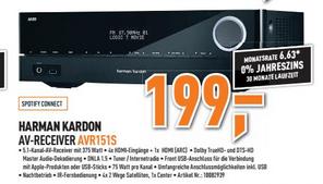 (LOKAL BERLET HAMM WESTF.) Harman Kartdon AV Reciever AVR151s