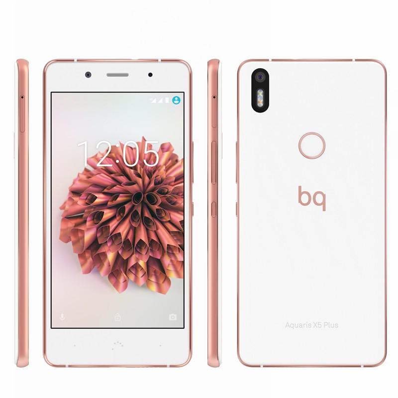 BQ C000208 Aquaris X5 Plus Smartphone weiß/rose gold [Amazon]