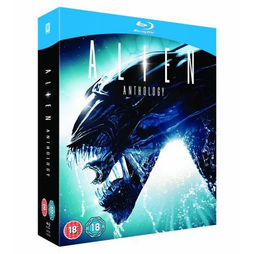 UPDATE! Alien Anthology (4 Blu-rays) für 12,49€ inkl.VSK