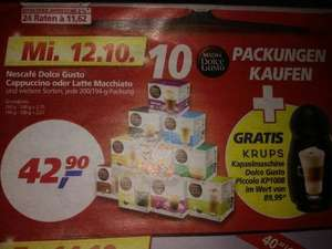 Dolce Gusto Piccolo inkl. 10 Kapselpackungen / real