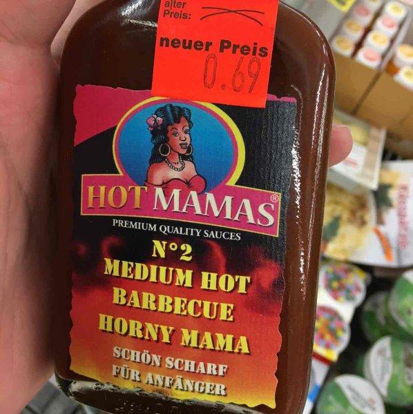 Hot Mamas Sauce Medium Hot Barbecue Horny Mama nur 69 Cent Penny (Hamburg Eidelstedt)