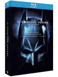 2x The Dark Knight Trilogie (5 Blu-rays) für 19,84€ (Amazon.it)