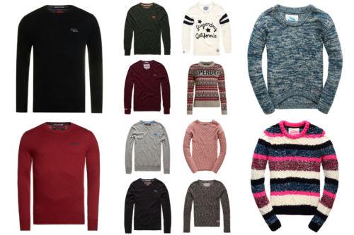 Ebay - Superdry Pullover für Männer und Frauen Versch. Modelle und Farben
