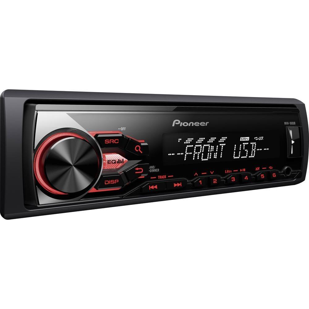 [Conrad] Pioneer MVH-180UB Autoradio (USB, Flac, AUX) inkl Versand für 33,45€ (PVG 47€)