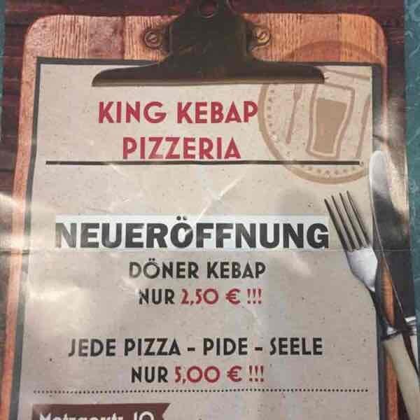 lokal Offenburg - Neueröffnung: Döner 2,50 €, Pizza 5,00 € bis 31.10.2016