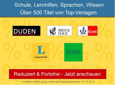 Über 500 reduzierte Bücher zum Thema Schule, Sprachen lernen und Bildung ab 1,99 EUR bei Terrashop