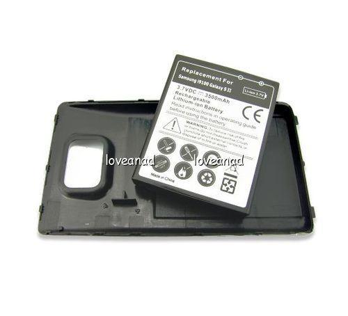 Powerakku für Samsung Galaxy S2 - 3500mAh - Ebay - 5,29€