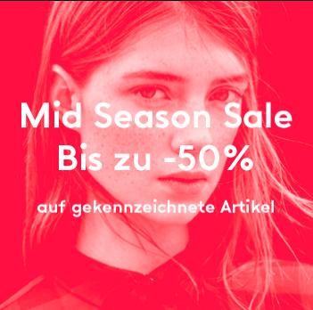 Mid Season Sale bei Mango mit 20-50% Rabatt auf ausgewählte Artikel