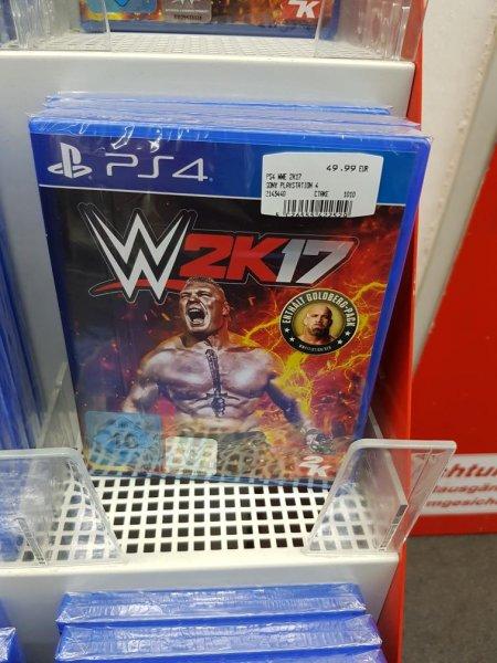 WWE 2K17 PS4 Inklusive Goldberg (Media Markt Osnabrück)
