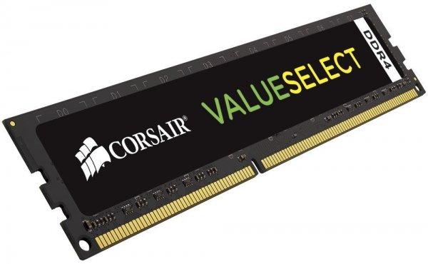 Corsair Value Select 4GB DDR4-2133 CL15 für 5,54€ als Plus Produkt, 5 Stück für 31,94€ bei Amazon.co.uk