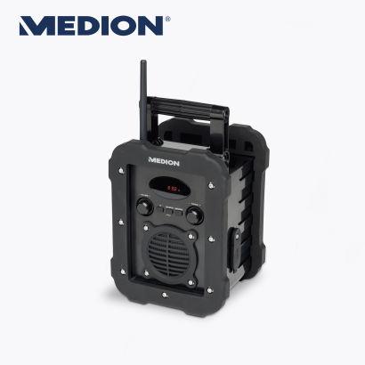[Lokal Aldi Remscheid Burger Straße] Medion Baustellenradio E66262 für 25 Euro statt 39,99 Euro und Bluetooth Lautsprecher P61085 für 30 Euro statt 49,99 Euro