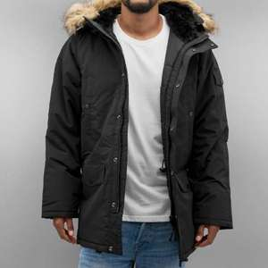 Carhartt | WIP ANCHORAGE PARKA Winterparka Herren in Schwarz