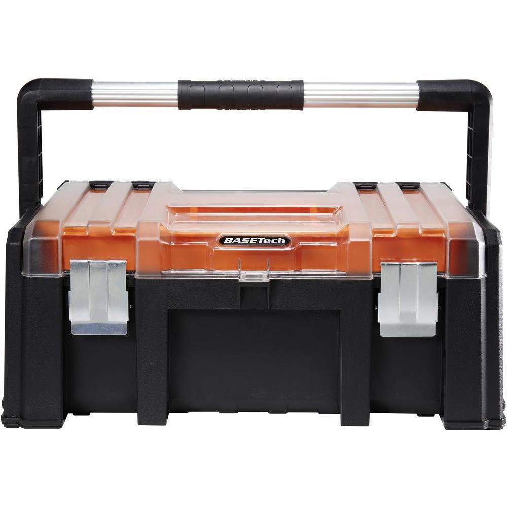 Basetech Werkzeugkasten (510 x 320 x 220) für 9,99€ bei [Conrad Abholung] oder alternativ kleinere Varianten bei [Lidl]