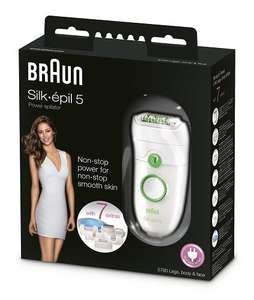 Braun Silk Epil 5 Power 5780 Epilierer für 46 € (VGP 69,90) @Amazon.co.uk