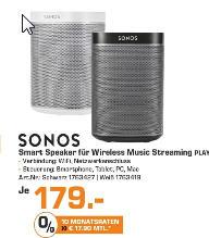 [Lokal Saturn Leverkusen] Sonos Play 1 für 179 €