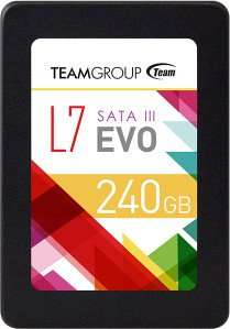 [Caseking/DriveCity/Amazon MP] 240GB TeamGroup L7 EVO SSD ab 53,37€