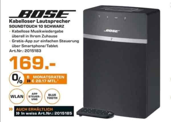 Bose Soundtouch 10 [lokal Saturn Ingolstadt]