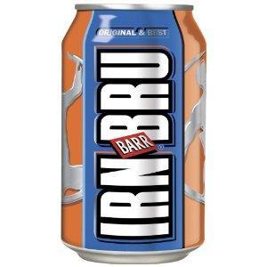 IRN BRU 24x 0,33l Kultgetränk aus Schottland, günstiges Original via amazon.co.uk inkl. Versand