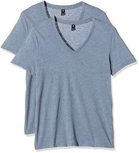 [Amazon Prime] G-STAR RAW Herren T-Shirt Base, 2er Pack V-Neck