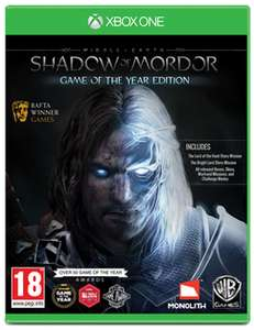 [game.co.uk] Mittelerde: Mordors Schatten - Game of the Year Edition (Xbox One)