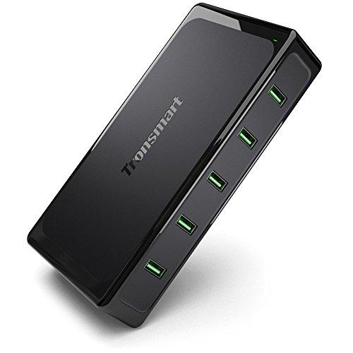 [Amazon] Tronsmart Titan 10A/90W 5-Port USB Ladegerät mit Quick-Charge 2.0