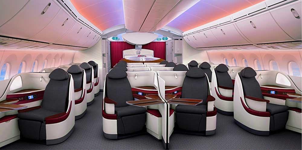 Zürich - Adelaide (Australien) in Business Class von Qatar Airways abr 1.153 Euro