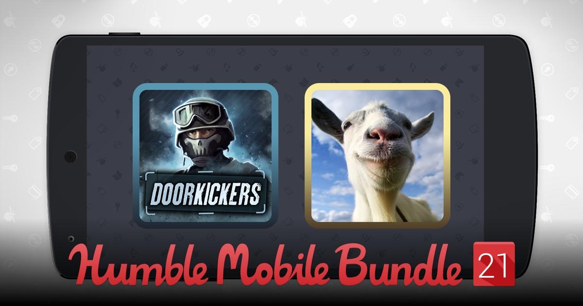Humble Mobile Bundle 21 (Android) ab 0,90€ u.a. mit GOAT SIMULATOR für 5,42€