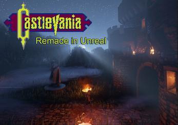 Castlevania Fanremake (Unreal Engine 4)