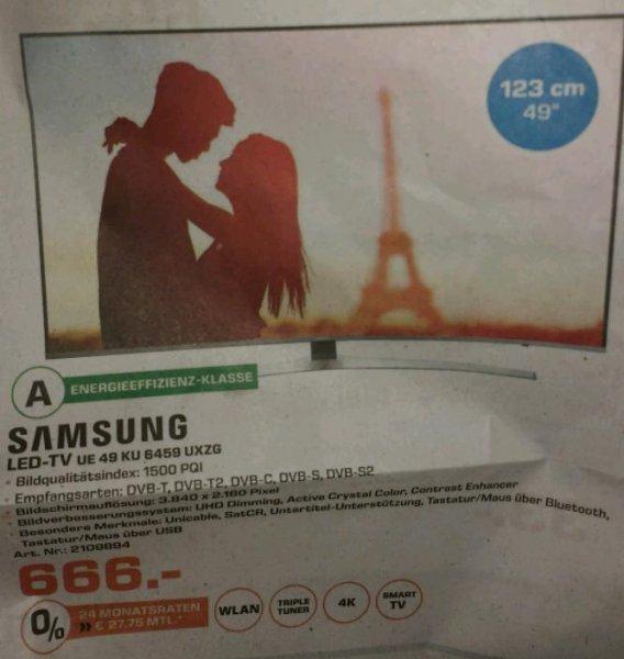 [Saturn Nürnberg] Samsung UE49KU6459 UHD TV