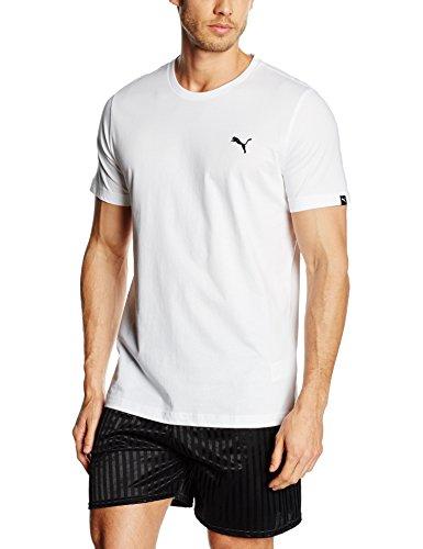 PUMA Herren T-shirt ESS Tee White XL für 4,70€ statt 18,89€ [Amazon Prime]
