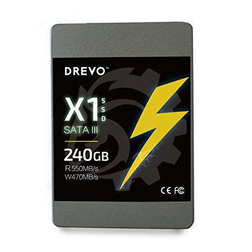 ( Amazon.de )Drevo X1 Serie SSD-Festplatte 240GB Sata III für 49,99 ( Prime )