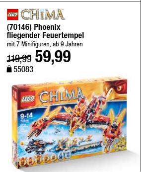 Lego 70146 Chima - 6 Tage Rennen Galeria Kaufhof - nur am 18.10.2016
