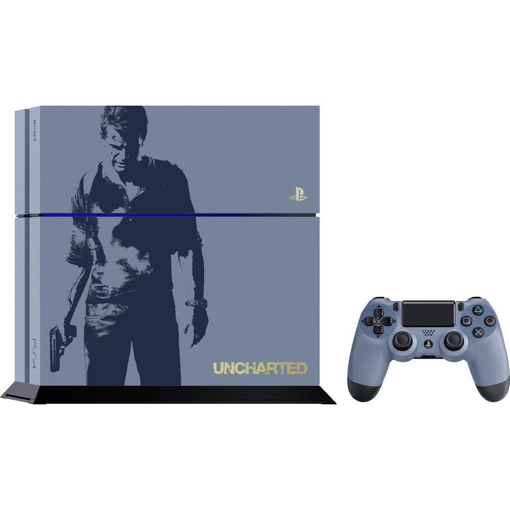 Sony PS4 1TB Limited Uncharted Edition + Uncharted 4: A Thiefs End für 287,47€ [Conrad] Neukunden Versandkostenfrei + Newsletteranmeldung 5,55€