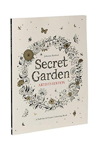 [Amazon.co.uk] Secret Garden Artists Edition - Ausmalbuch für Erwachsene