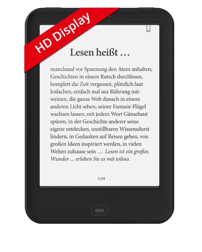 tolino shine 2 HD für 99€bei eBook.de