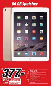 [Lokal] Apple iPad Air 2 64GB WiFi für 377€ bei MediaMarkt Berlin
