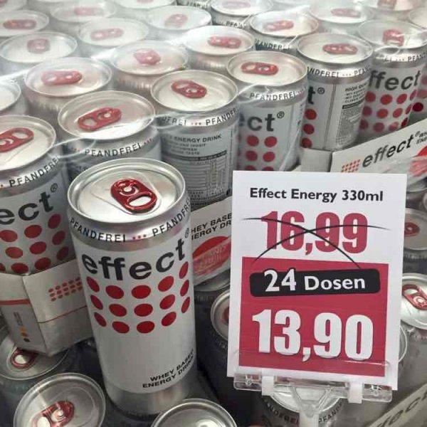 Effect Energy 24 x 330ml für 13,90€ | Wiva Lebensmittel Bielefeld