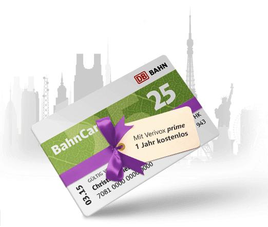 Bahncard 25 für knapp 30€ + Wechselservice für Strom Gas, Kfz-Versicherung oder DSL-Vertrag