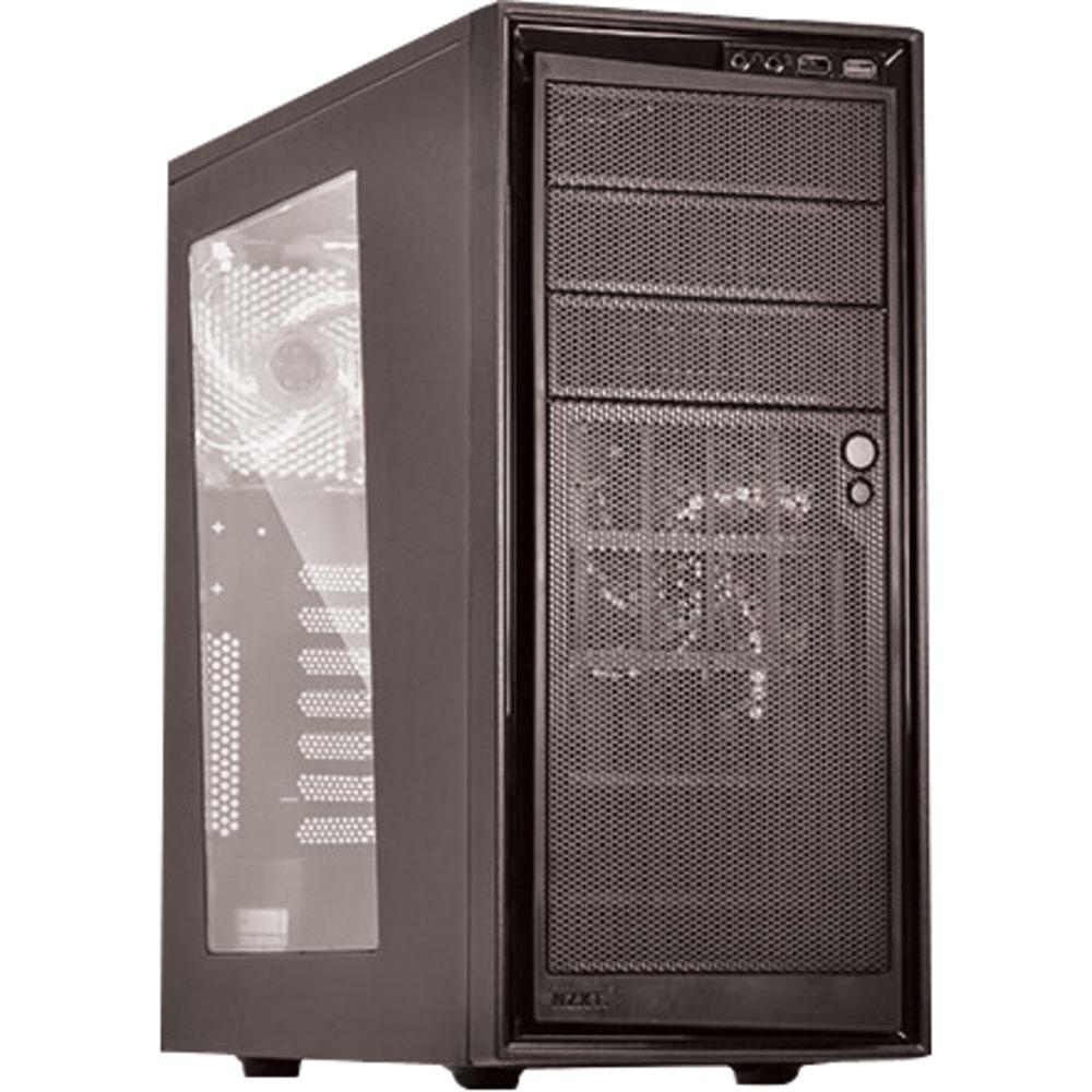 NZXT Source 220 PC-Gehäuse mit Sichtfenster (1x 120mm + 1x 140mm LED-Lüfter in blau, rot oder weiß) (Kabelmanagement) für 49,14€ [Rakuten]