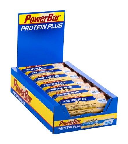[Amazon Sparabo] Powerbar Protein Plus Reduced in Carbs Riegel, Vanille, 1er Pack (1 x 30 Stück) für 7,02€