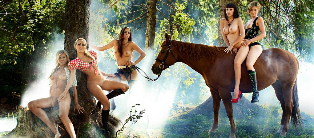 Erntezeit beim Playboy: 55 Gratis-Bilder von den schönsten Bäuerinnen