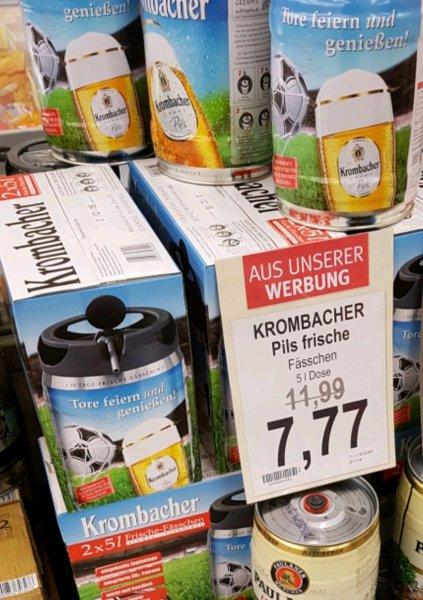 Krombacher Frische Fässchen für 7,77€ im Combi [Lokal?]