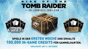 Xbox One/Xbox 360/Playstation 4/PC Rise of the Tomb Raider 100.000 Bonus Credits