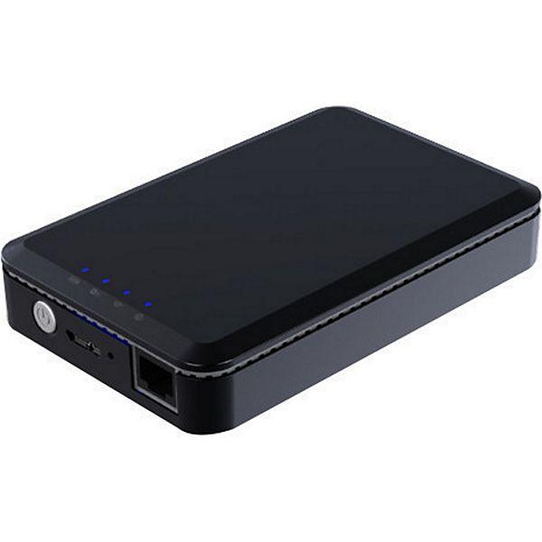 (Plus.de) 2000 GB WLAN Festplatte MEDION® LIFE® S88400 (MD 90219) mit Powerbank Funktion