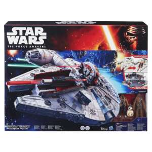 (real.online.de) Hasbro, Star Wars Movie The Force Awakens Battle Action Millennium Falcon