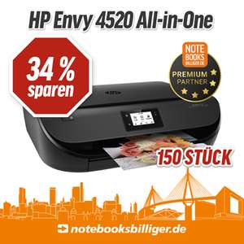 [Lokal] NBB Store Hamburg - HP Envy 4520 (-24% zu idealo)