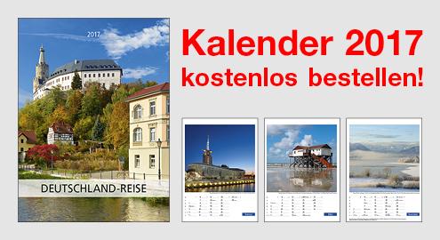 """Kostenloser TOTAL Kalender 2017 - """"Deutschland-Reise"""""""